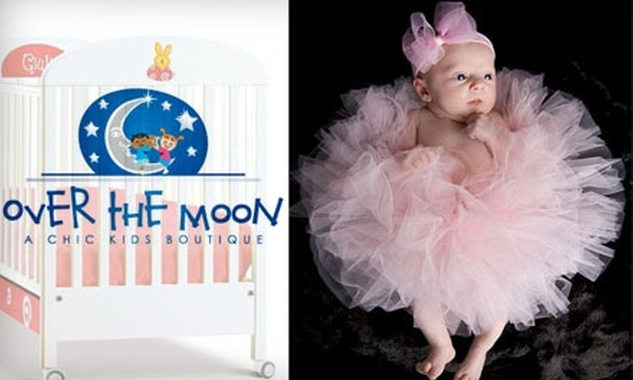 Over the Moon Boutique - Seattle: $20 for $50 Worth of Baby Apparel, Accessories, Furniture, Gifts, and More from Over the Moon Boutique