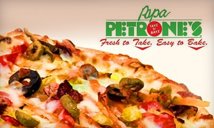 Papa Petrone's Take 'N Bake - Lake Ridge: $15 for $30 Worth of Oven-Ready Pizza and Italian Fare at Papa Petrone's Take 'N Bake in Woodbridge