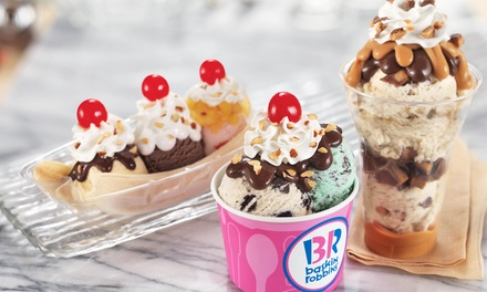 Seasonal Ice-Cream Cakes at Baskin Robbins - Burlington (Up to 40% Off)