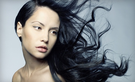 Haircut, Style, and Deep Conditioning Treatment (an $80 total value) - Maribou Salon on Sutter in Folsom