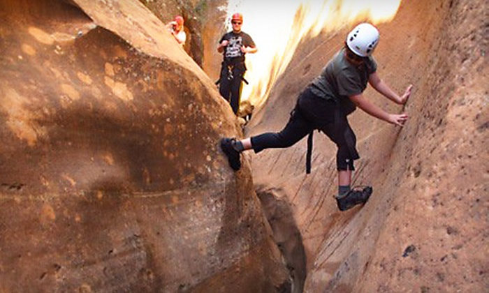 Zion Mountain School - Springdale: $110 for a Half-Day Rock-Climbing or Canyoneering Trip for Two from Zion Mountain School in Springdale