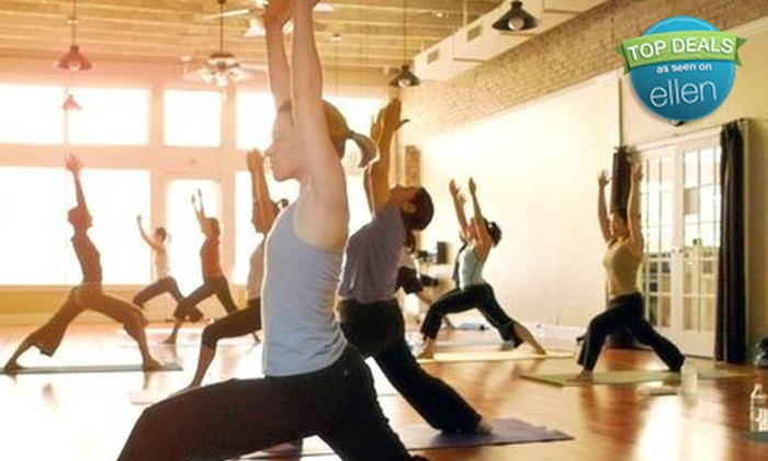 Uptown Yoga - Multiple Locations: One Month of Unlimited Yoga Classes or 10 or 20 Classes at Uptown Yoga (Up to 78% Off)