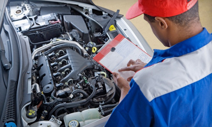 AAMCO Transmissions of Pineville - Pineville: $22 for Oil Change, Tire Rotation, and 36-Point Safety Inspection at AAMCO Transmissions of Pineville (Up to $64.95 Value)