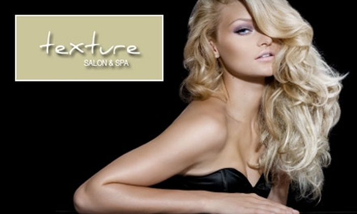 Texture Salon and Spa - Northwest Oklahoma City: $29 for $60 Worth of Hair, Nail, Body-Sugaring, and Massage Services at Texture Salon and Spa
