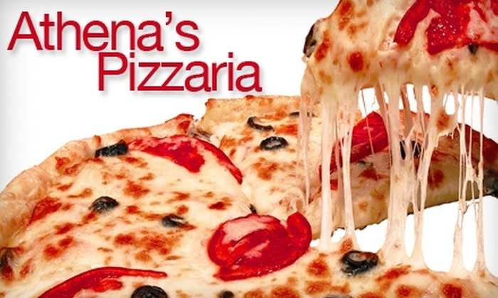 Athena's - Cuyahoga Falls: $5 for $10 Worth of Pizza and Drinks at Athena's
