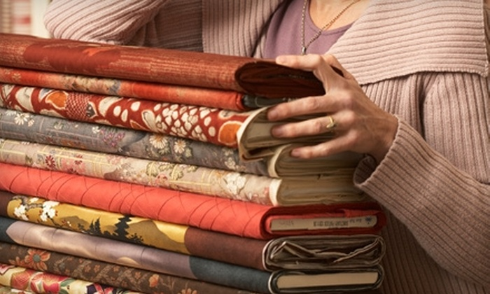 It's Sew Easy - Sudbury: $20 for $40 Worth of Fabric and Notions at It's Sew Easy