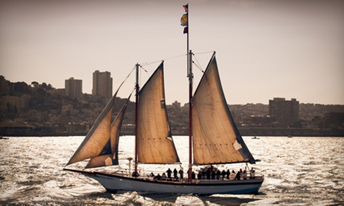Rendezvous Charters - Potrero: $300 for a Two- or Three-Hour Sailing Party for Up to 20 Guests from Rendezvous Charters (Up to $600 Value)