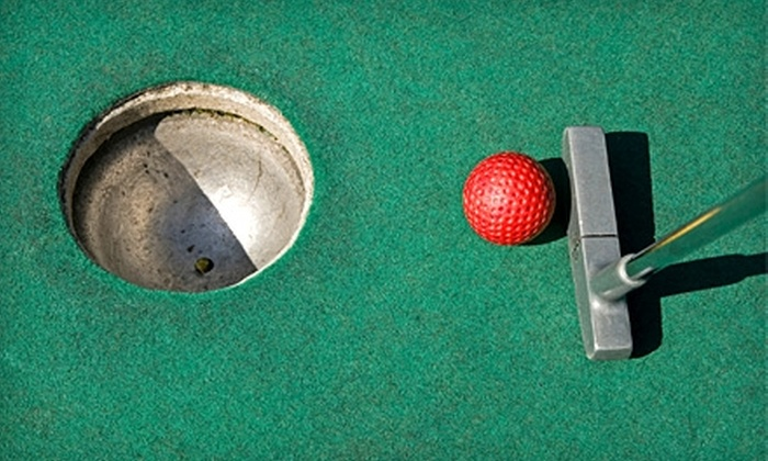 Green Valley Golf Range - Hanover Park: $30 for Mini Golf, Range Balls, Lunch, and Ice Cream for Four at Green Valley Golf Range in Hanover Park ($60 Value)