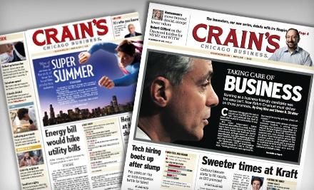 Crain's Chicago Business - Crain's Chicago Business in