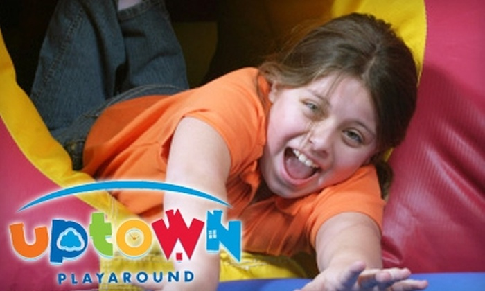 Uptown Playaround - Central Jersey: $20 for a $45 Gift Card Toward Admission, Children's Activities, and More at Uptown Playaround
