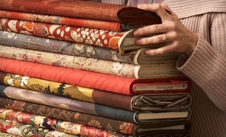 $50 Groupon to Curran Designer Fabric & Furniture - Curran Designer Fabric & Furniture in Atlanta