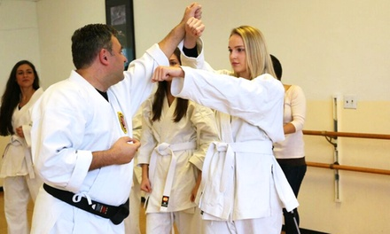 One or Two Months of Karate Classes at Three Coral Dojo (75% Off)