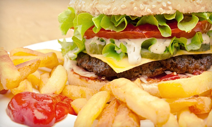 Sharky's Burgers and Fries - Palm Valley: $10 for $20 Worth of Sandwiches and Shakes at Sharky's Burgers and Fries in Ponte Vedra Beach