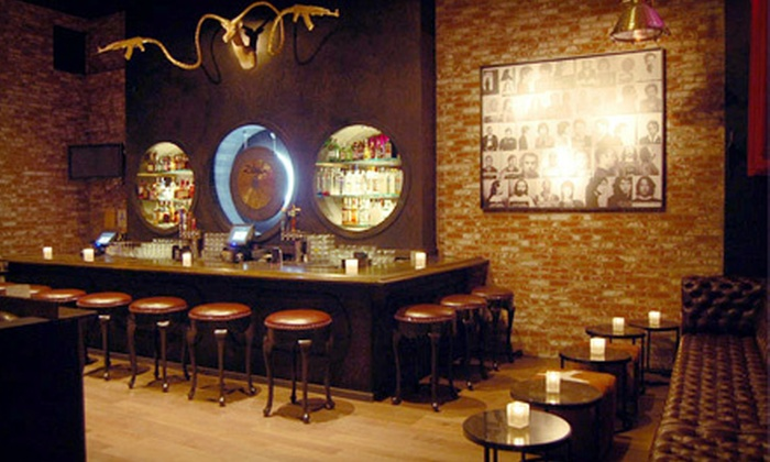 Angels & Kings - Hollywood: $20 for $40 Worth of Lounge Food and Drinks at Angels & Kings