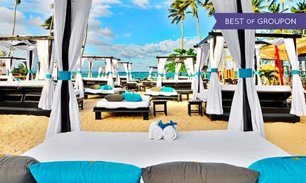 groupon daily deal - All-Inclusive Stay at Presidential Suites Punta Cana in Dominican Republic, with Dates into June. Includes Taxes & Fees.