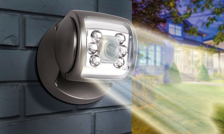 Up to Four Wireless LED Porch Motion Sensor Lights with Optional Batteries