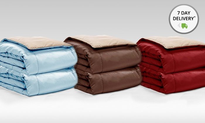 Reversible Down Alternative Throws 2-Pack: Reversible Down Alternative Throws 2-Pack. Multiple Colors Available. Free Shipping and Returns.
