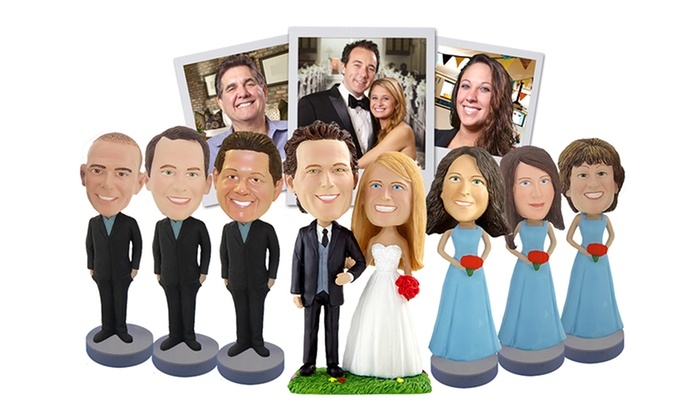 Custom Bobbleheads from AllBobbleHeads.com (Up to 58% Off). Six Options Available.