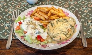 Stara Fabryka: Zupa i danie główne dla dwojga za 49,99 zł oraz więcej opcji w restauracji Stara Fabryka w Bydgoszczy (do -35%)
