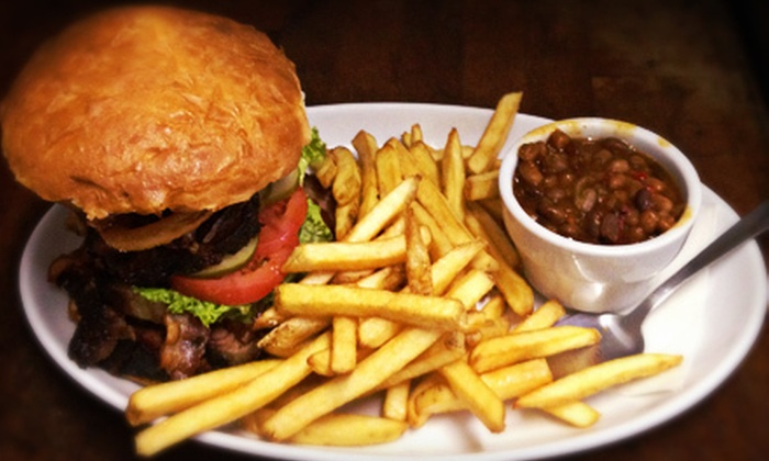 Sloppy Hoggs Roed Hus - Westwood: $15 for $30 Worth of Barbecue at Sloppy Hoggs Roed Hus