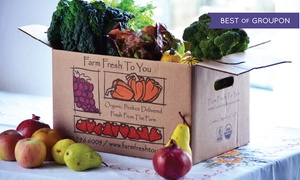 Farm Fresh To You: $15 for $33 Worth of Delivered Organic Produce from Farm Fresh To You