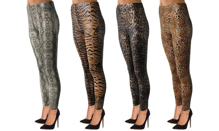 074214b300264 Animal Print Leggings | Groupon Goods
