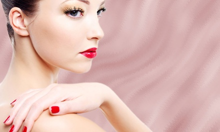 One or Two Shellac Manicures at A Place In the Sun (Up to 64% Off)