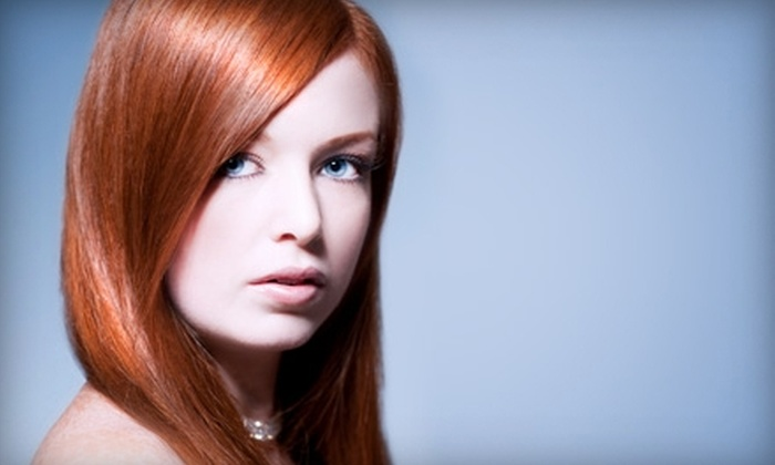 Salon Seven - Deer Park: $15 for Hair Wash and Blow-Dry Styling at Salon Seven in Deer Park ($30 Value)