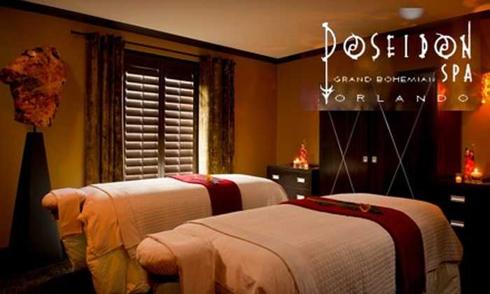 Poseidon Spa at the Grand Bohemian Hotel - Central Business District: $96 for a Two-Hour Spa Package with a Massage, Pedicure, and More at Poseidon Spa ($195 Value)