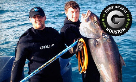 PADI Spearfishing Certification Class (a $150 value) - Maximum Scuba in Seabrook