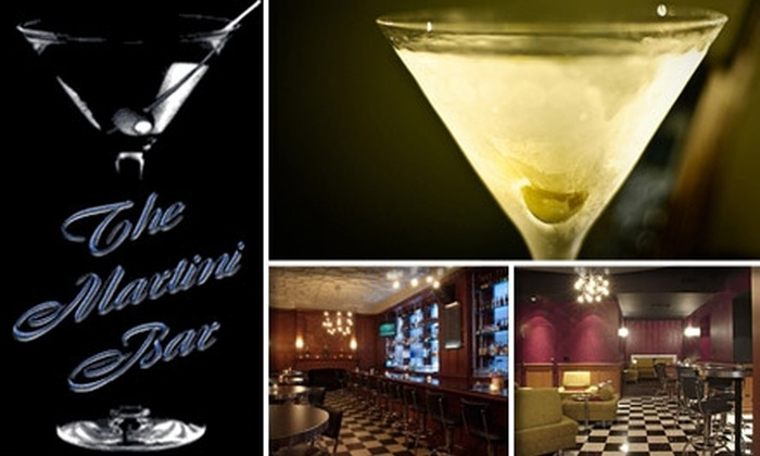 Martini Bar - Multiple Locations: $20 for $50 Worth of Martinis and Other Drinks at Martini Bar