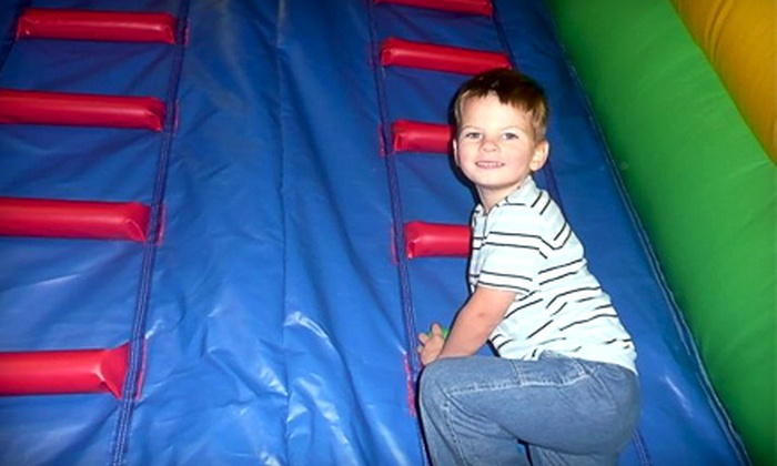 Jumps & Downs - Shakopee: $10 for Three Open-Play Passes at Jumps & Downs in Shakopee (Up to $21 Value)