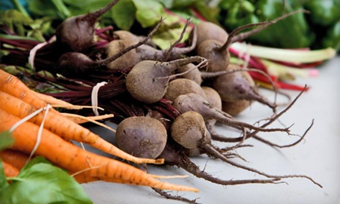 Door to Door Organics - SWAN: $22 for Two Bitty Boxes of Organic Produce with Delivery from Door to Door Organics ($50 Value)