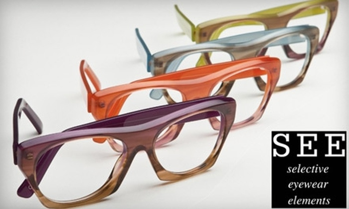 SEE Eyewear - San Francisco: $50 for $200 Worth of SEE Eyewear Brand Prescription Eyeglasses or Sunglasses