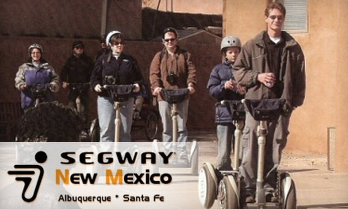 Segway New Mexico - Downtown: $35 for a Segway Sightseeing Tour of Albuquerque from Segway New Mexico ($65 Value)