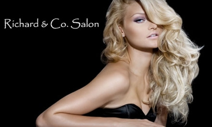 Richard & Co. Salon - Memphis: $40 for a Haircut and Keratin-Conditioning Treatment at Richard & Co. Salon (Up to $95 Value)
