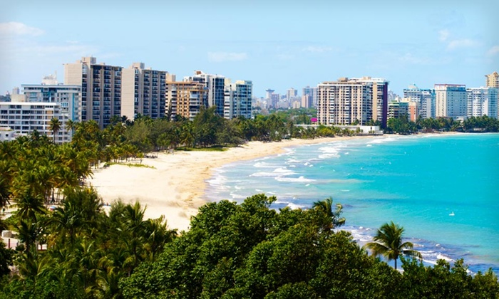 San Juan Water And Beach Club Carolina Three Night Stay For Two In