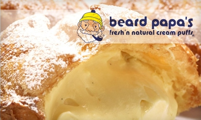 Beard Papa's - Loop: $5 for $10 Worth of Cream Puffs, Baked Goods, and Drinks at Beard Papa's
