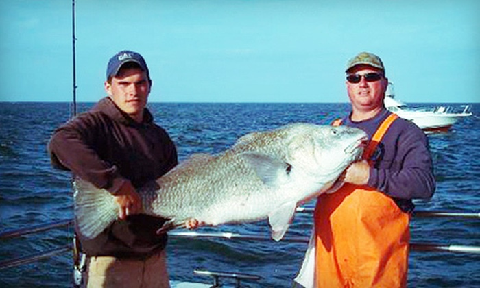 Cape May Lady - Lower: Four-Hour Fishing Trip for Two Adults, Two Adults and Two Kids, or Four Adults from Cape May Lady (Up to 56% Off)