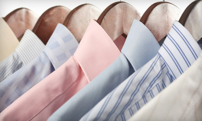 Classic Cleaners - Multiple Locations: Laundry and Dry-Cleaning Services from Classic Cleaners (Half Off).