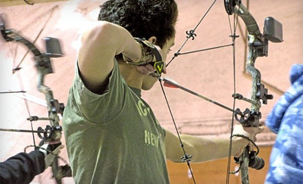 1-Hour Basic Archery Lesson for One (a $50 value) - Bearpaw Archery in Wasilla