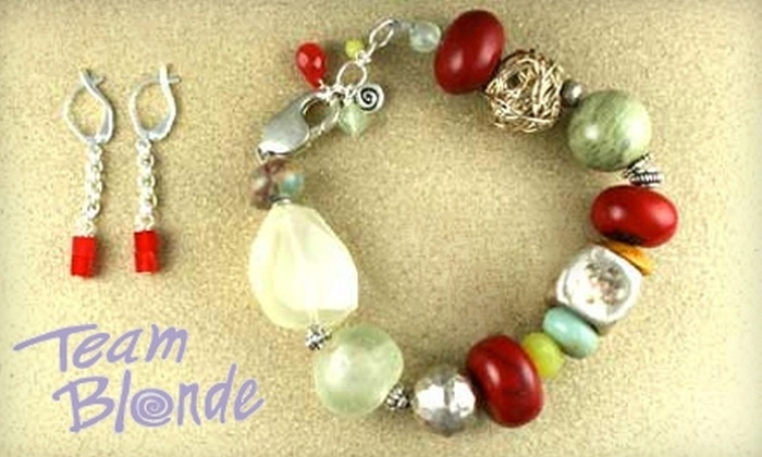 Team Blonde - Forest Park: $35 for Jewelry-Making Workshop at Team Blonde in Forest Park ($75 Value)