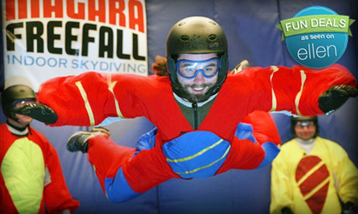 Niagara Freefall & Interactive Center - Niagara Falls: $69 for a Six-Minute Skydiving Flight at Niagara Freefall & Interactive Center in Niagara Falls ($141.60 Value)