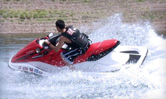 Arizona Outdoor Fun - Carefree: $85 for a Three-Hour Jet-Ski Rental from Arizona Outdoor Fun on Lake Pleasant or Bartlett Lake ($185 Value)