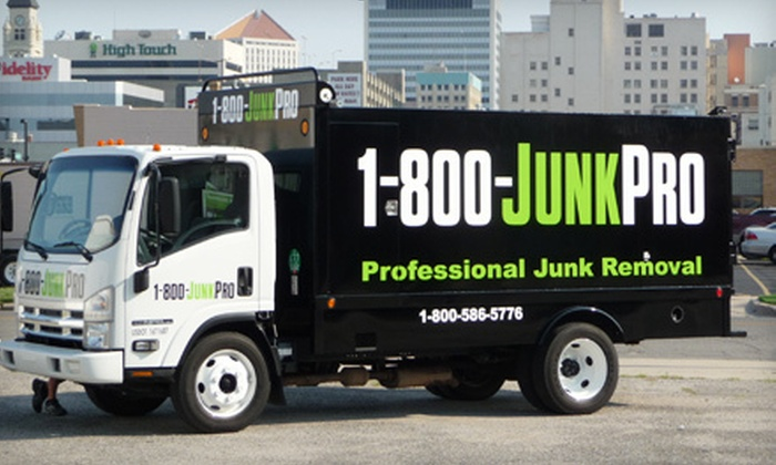 1-800-JUNKPRO - Wichita: $29 for $59 Worth of Junk Removal from 1-800-JUNKPRO