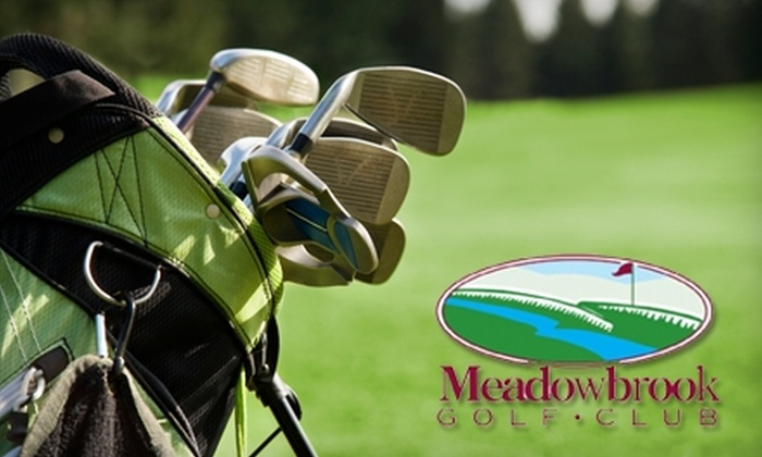 Meadowbrook Golf Club - Gainesville: $14 for 18 Holes of Golf and Power Cart Rental at Meadowbrook Golf Club (Up to $30 Value)