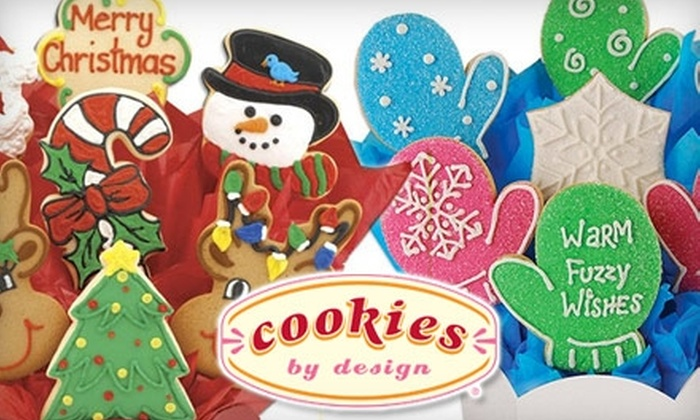 Cookies by Design Portland - Central Beaverton: $28 for Your Choice of One of Two Holiday Cookie Gift Baskets at Cookies by Design ($56 Value)