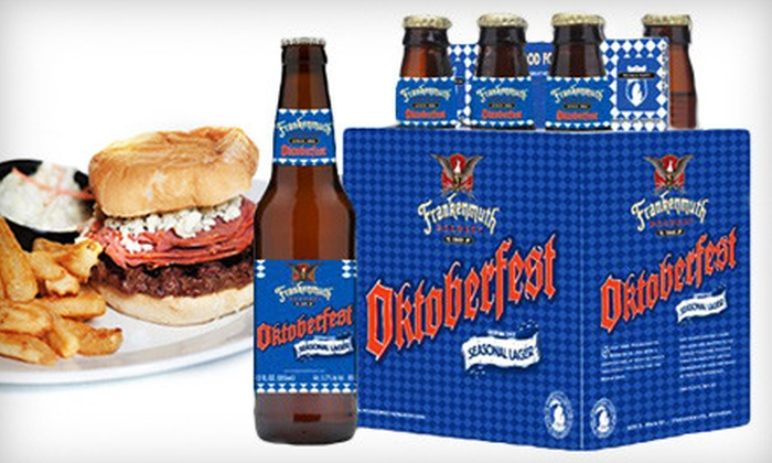 Frankenmuth Brewery - Frankenmuth: $26 for a Case of Oktoberfest Beer and $15 Worth of Pub Fare and Drinks at Frankenmuth Brewery ($53.40 Value)