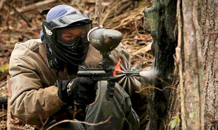 Smoky Mountain Paintball - 9: $45 for a Paintball Outing with All-Day Admission and Gear for Two at Smoky Mountain Paintball in Seymour ($90 Value)