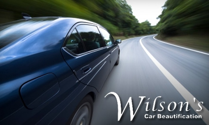 Wilson's Car Beautification - Brentwood: Car Wash and Waxing Services from Wilson's Car Beautification. Choose One of Three Options.